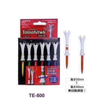 日本DAIYA TE-501 TOMAHAWK 可螺旋調整TEE 長8CM 日本製