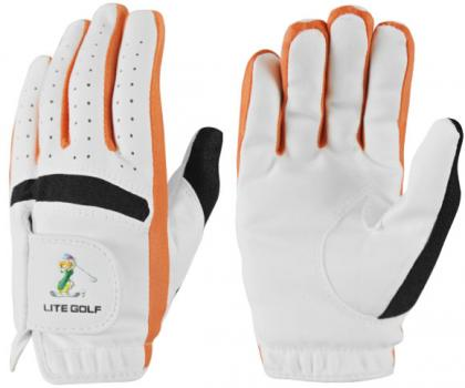 LITE 兒童手套 #LG-05 ,橘 手套(一雙)