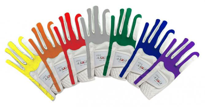 日本GEO AKAGI 彈性手套 #AKG18 白底 (不挑色) 手套